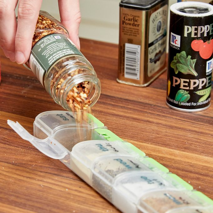 Portable Spice Rack