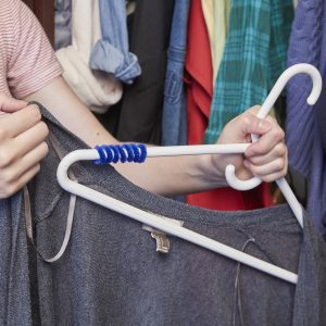 No-Slip Clothes Hanger