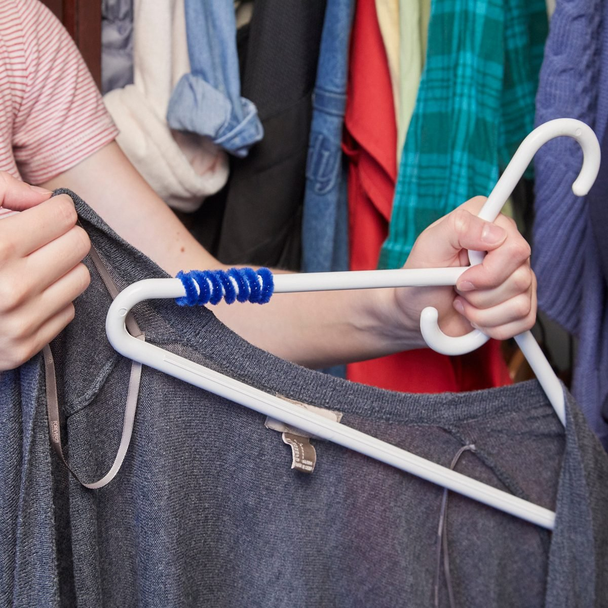 No-Slip Clothes Hanger 1