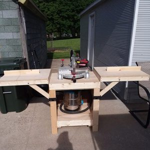 Reader Project: Simple DIY Miter Saw Stand