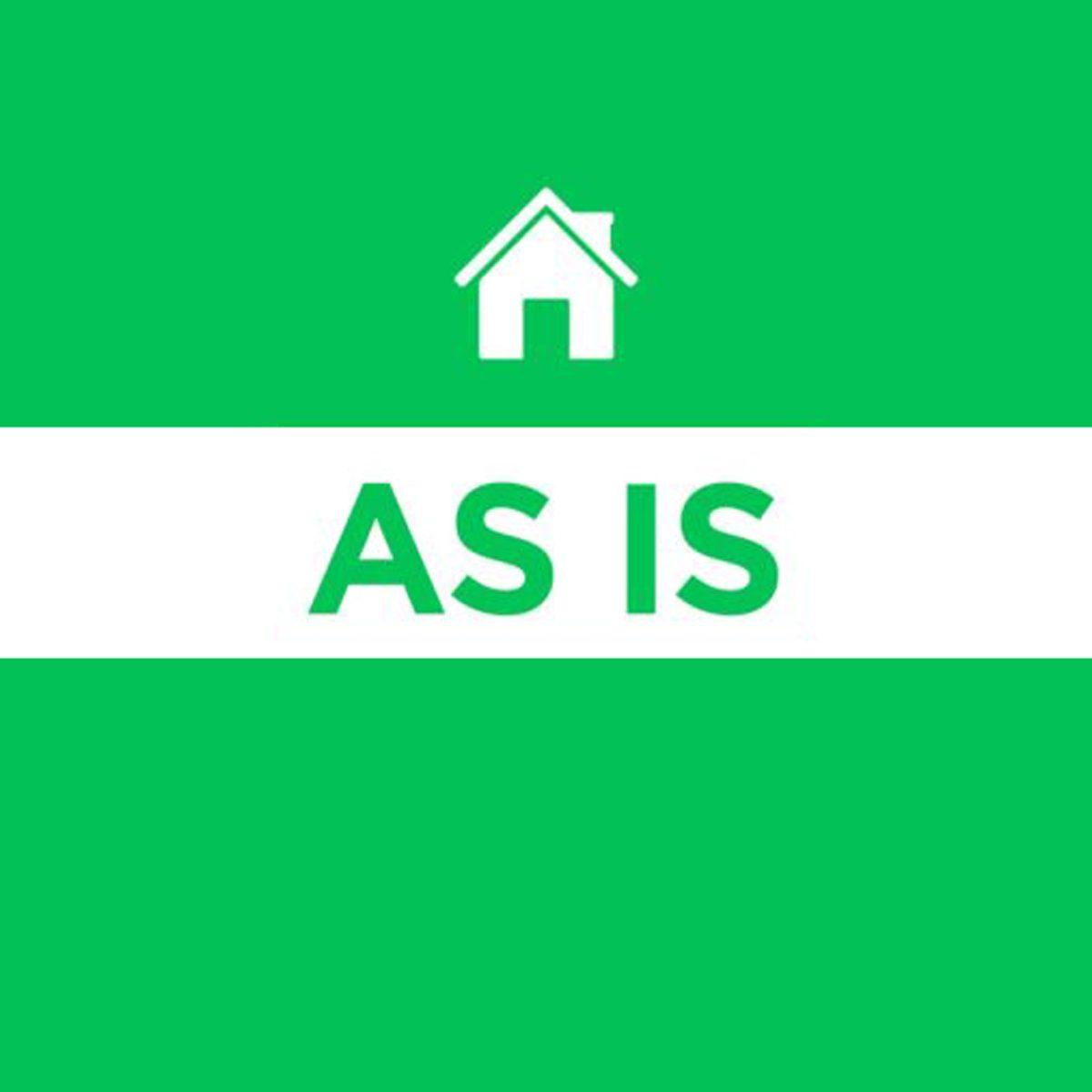 as is