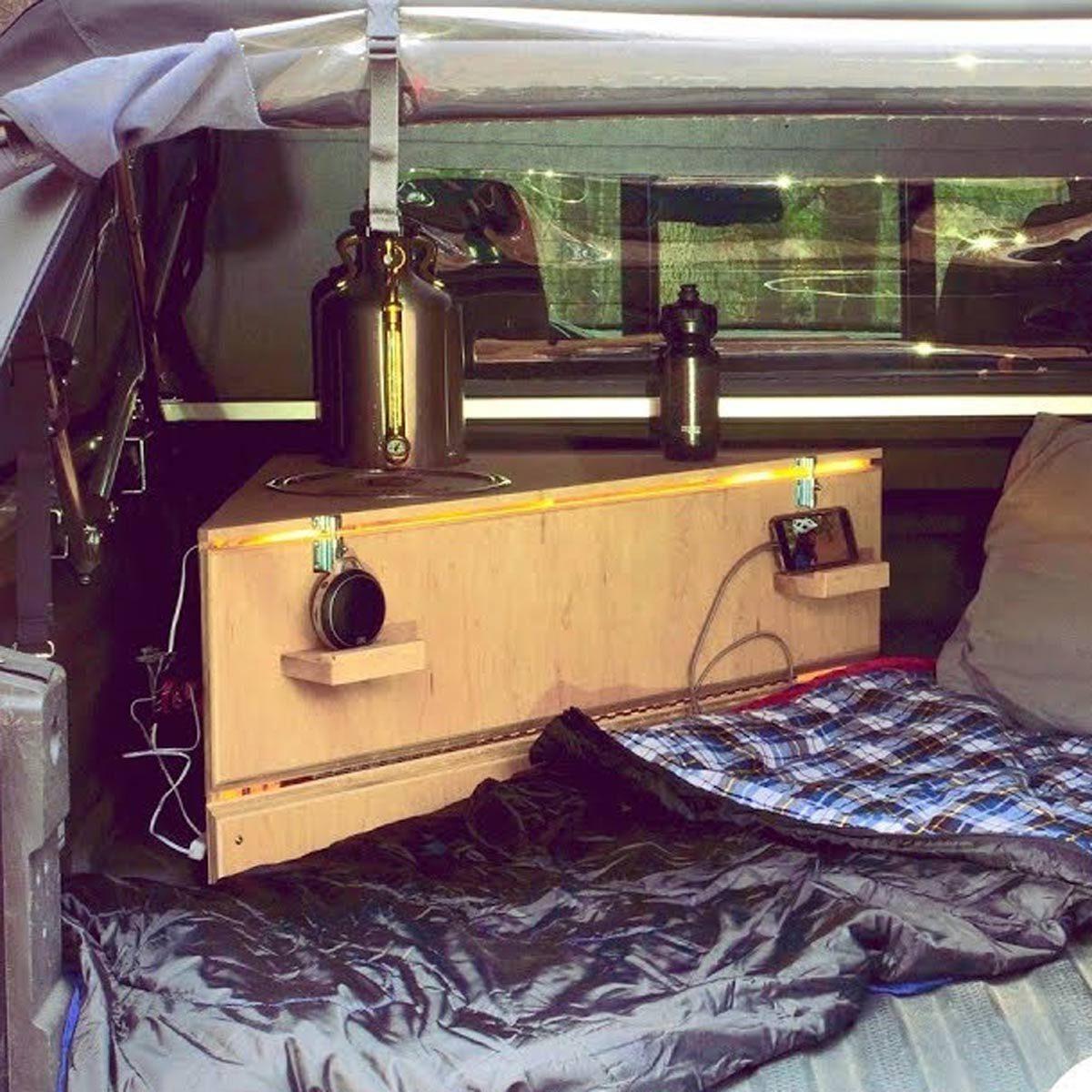 Diy Pickup Truck Bed Camper Cabinet