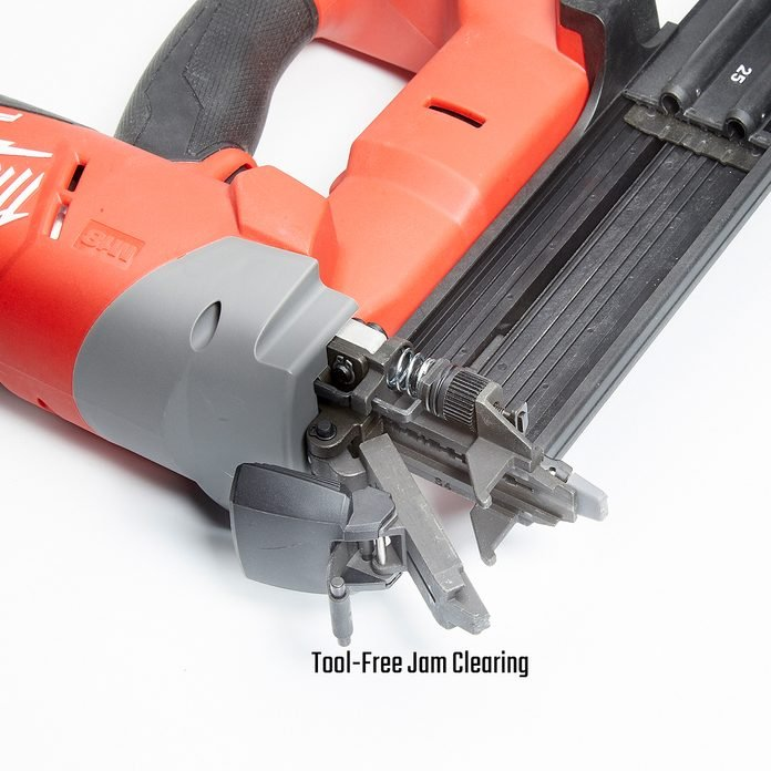 Brad Nailer with Tool-Free Jam Clearing | Construction Pro Tips