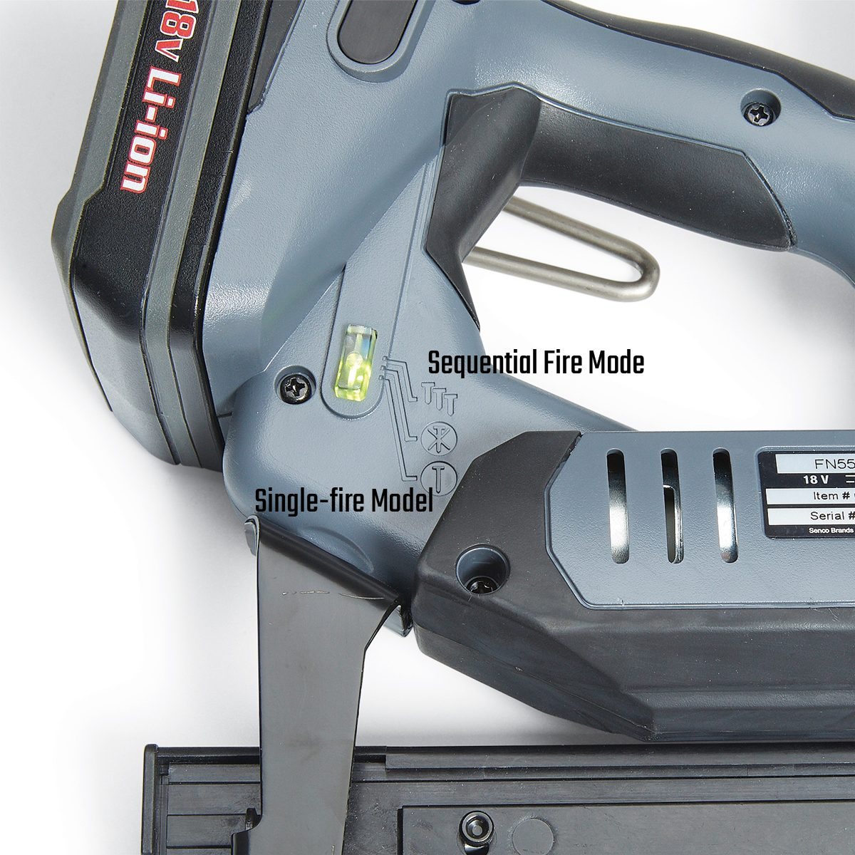 Brad Nailer with Sequential Firing | Construction Pro Tips