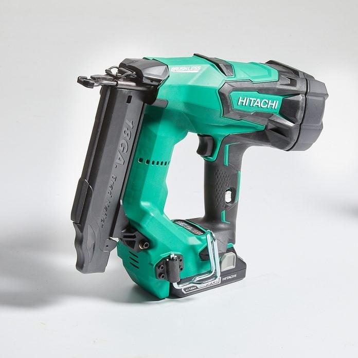 Hitachi Brad Nailer | Construction Pro Tips