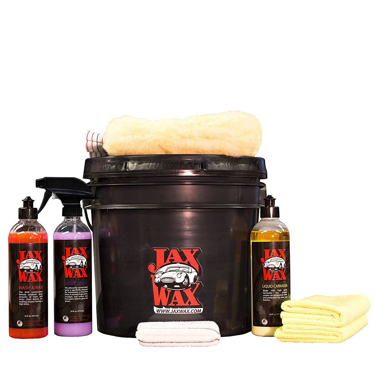 jax wax car wash kit