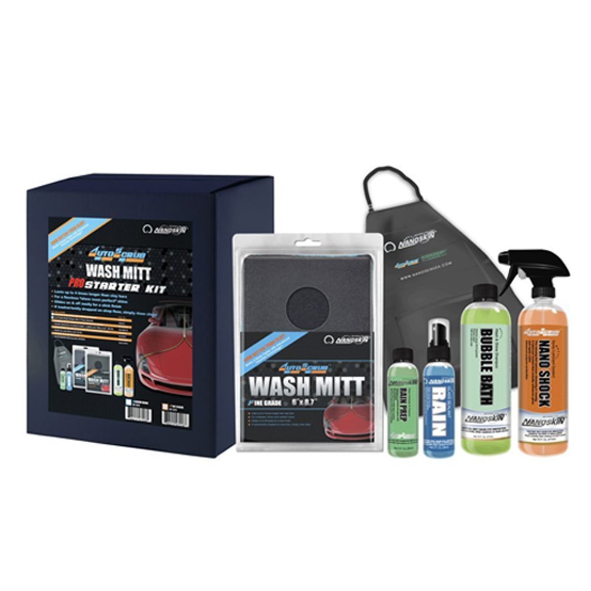 nanoskin car interior cleaning kit