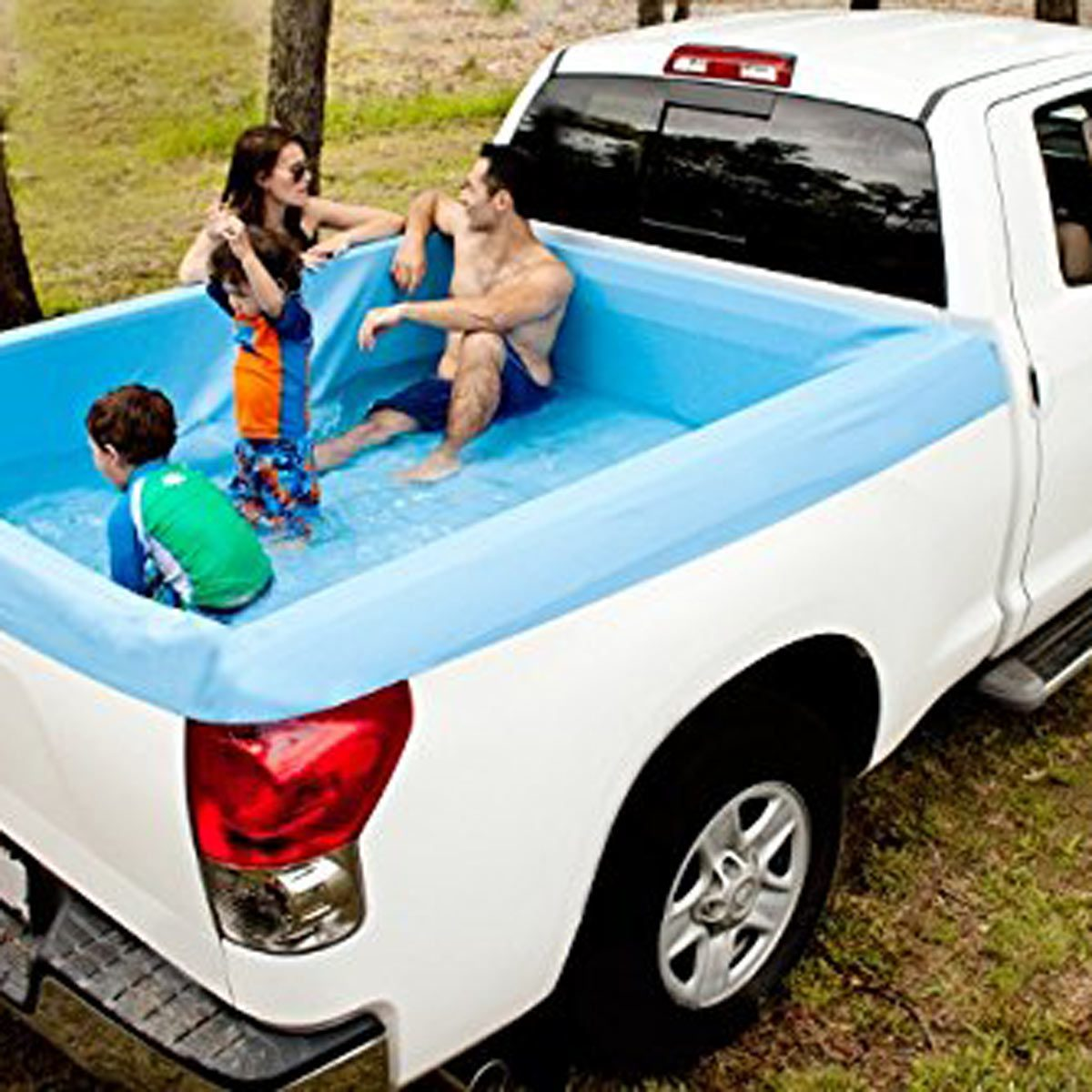 Bed Of A Truck >> 11 Pickup Truck Bed Hacks The Family Handyman