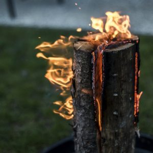 What is a Swedish Fire Torch? (And Why You Need to Make One This Summer)