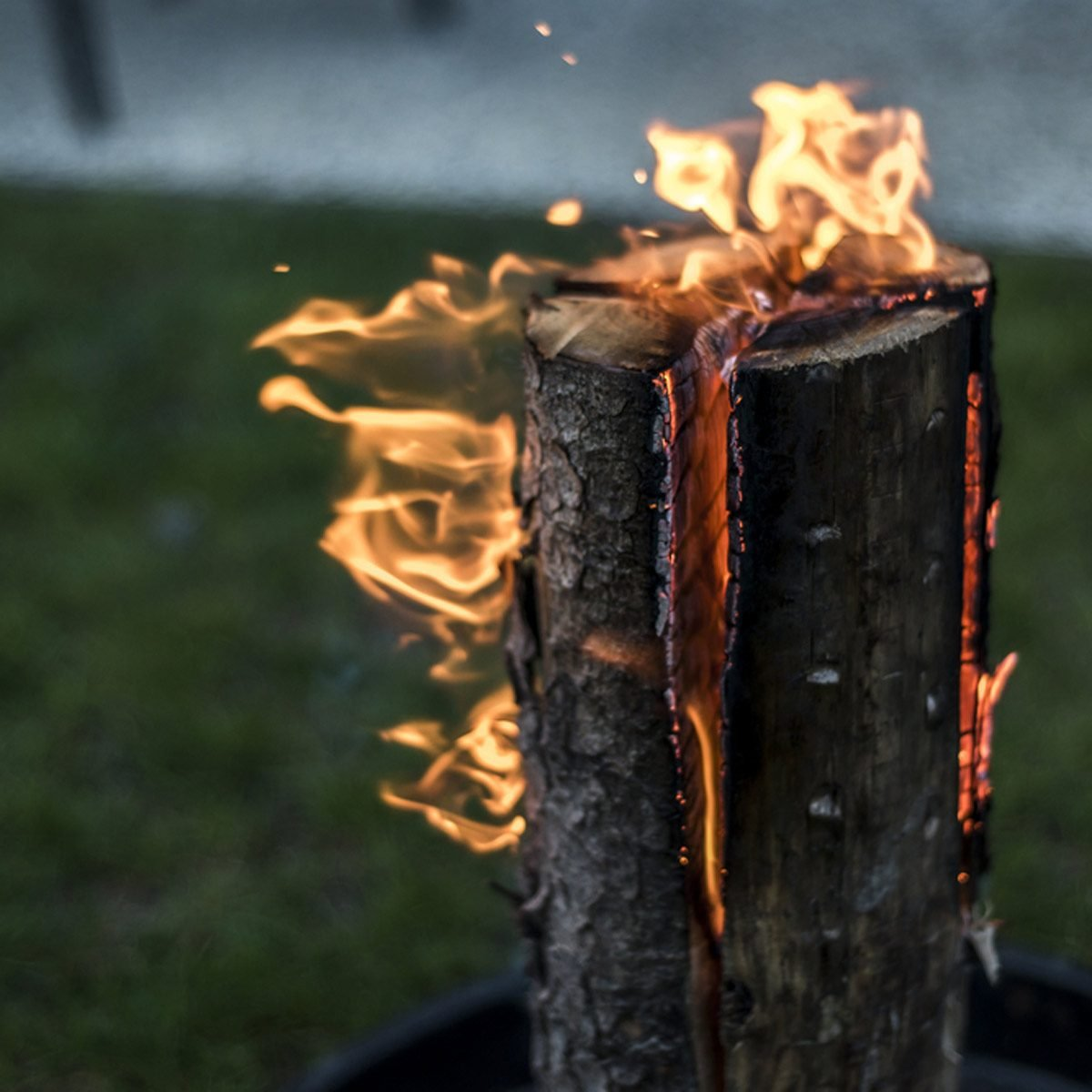 What Is A Swedish Fire Torch The Family Handyman