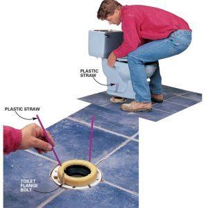 Easier Toilet Mounting