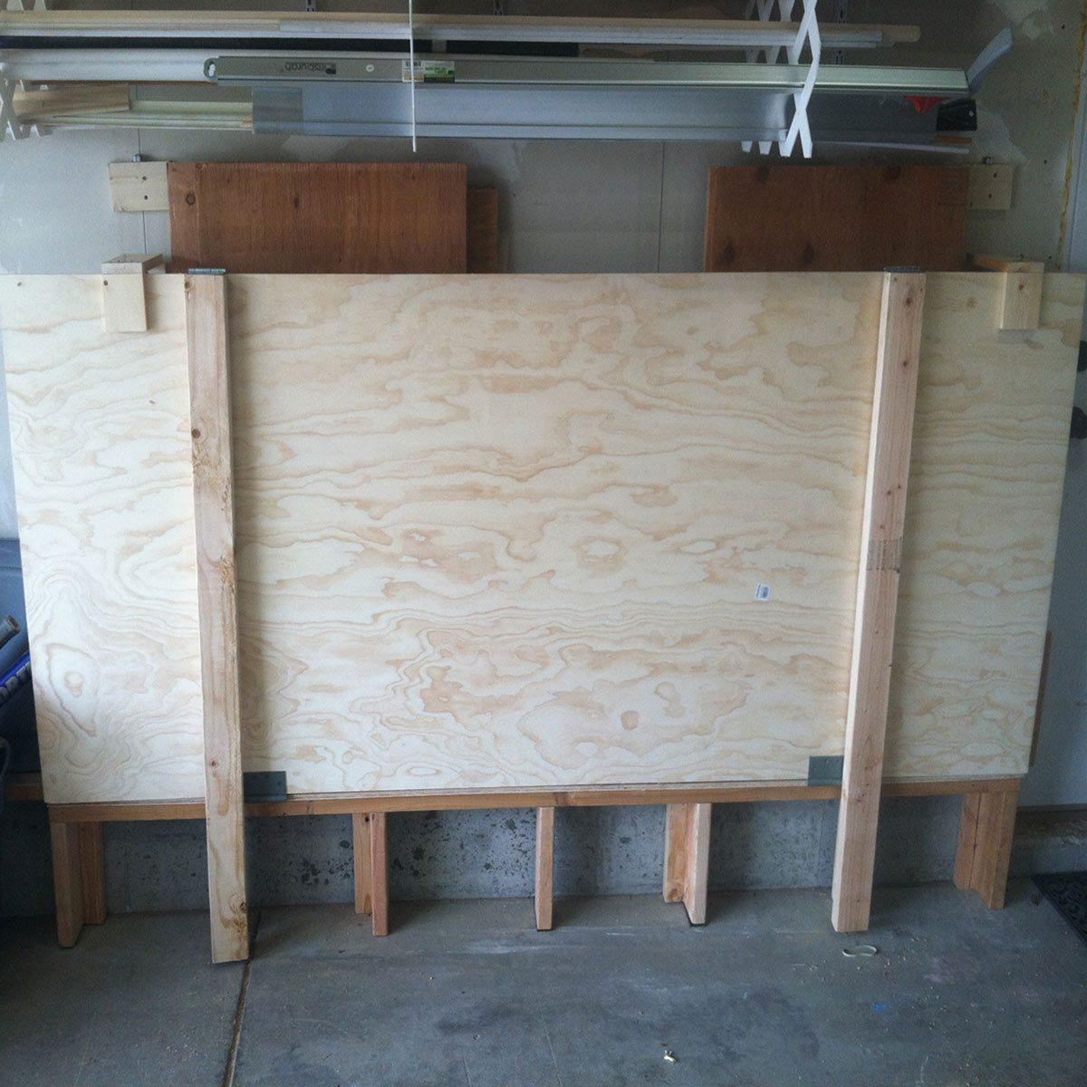 handy plywood storage