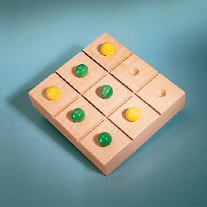 How to Build a Take-Along Tic-Tac-Toe Board with Game Piece Storage
