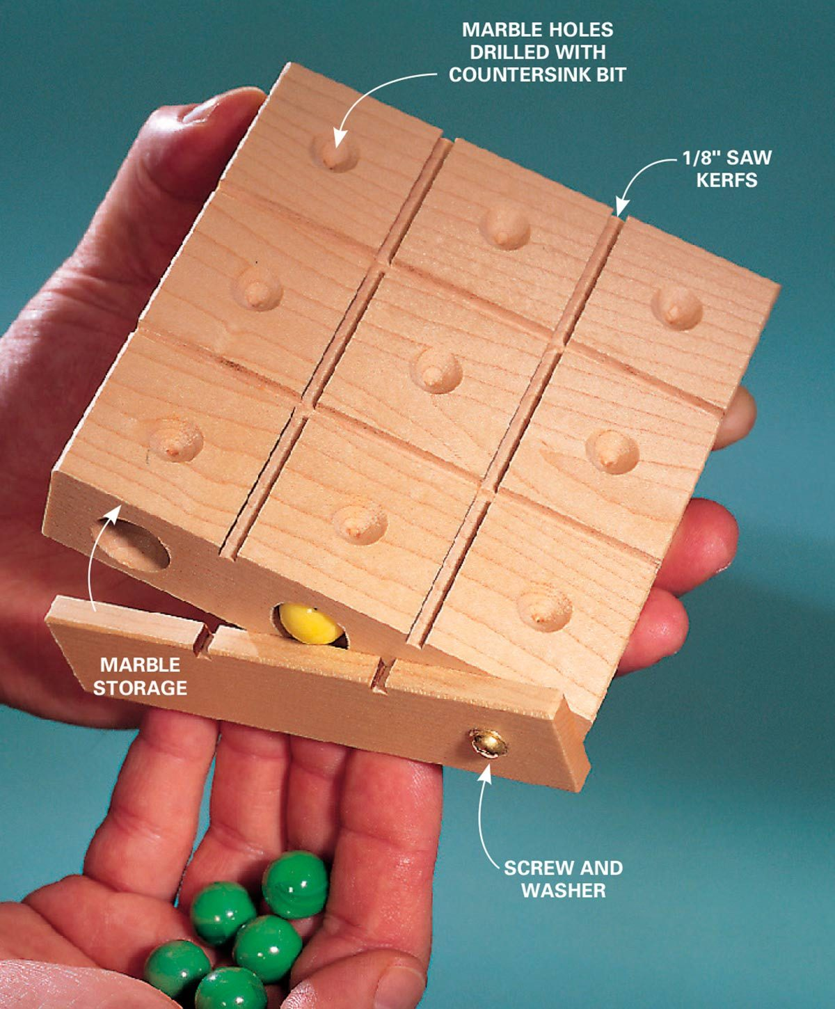 40 Outdoor Woodworking Projects For Beginners: How To Build A Take-Along Tic-Tac-Toe Board With Game