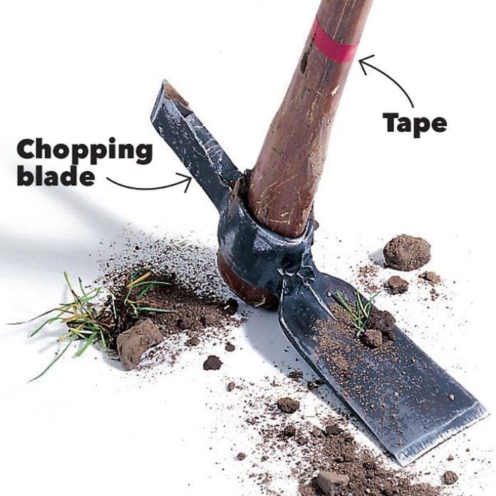 mattock digging holes