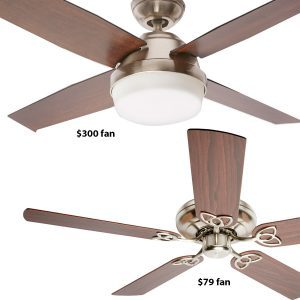 With Ceiling Fans, You Get What You Pay For