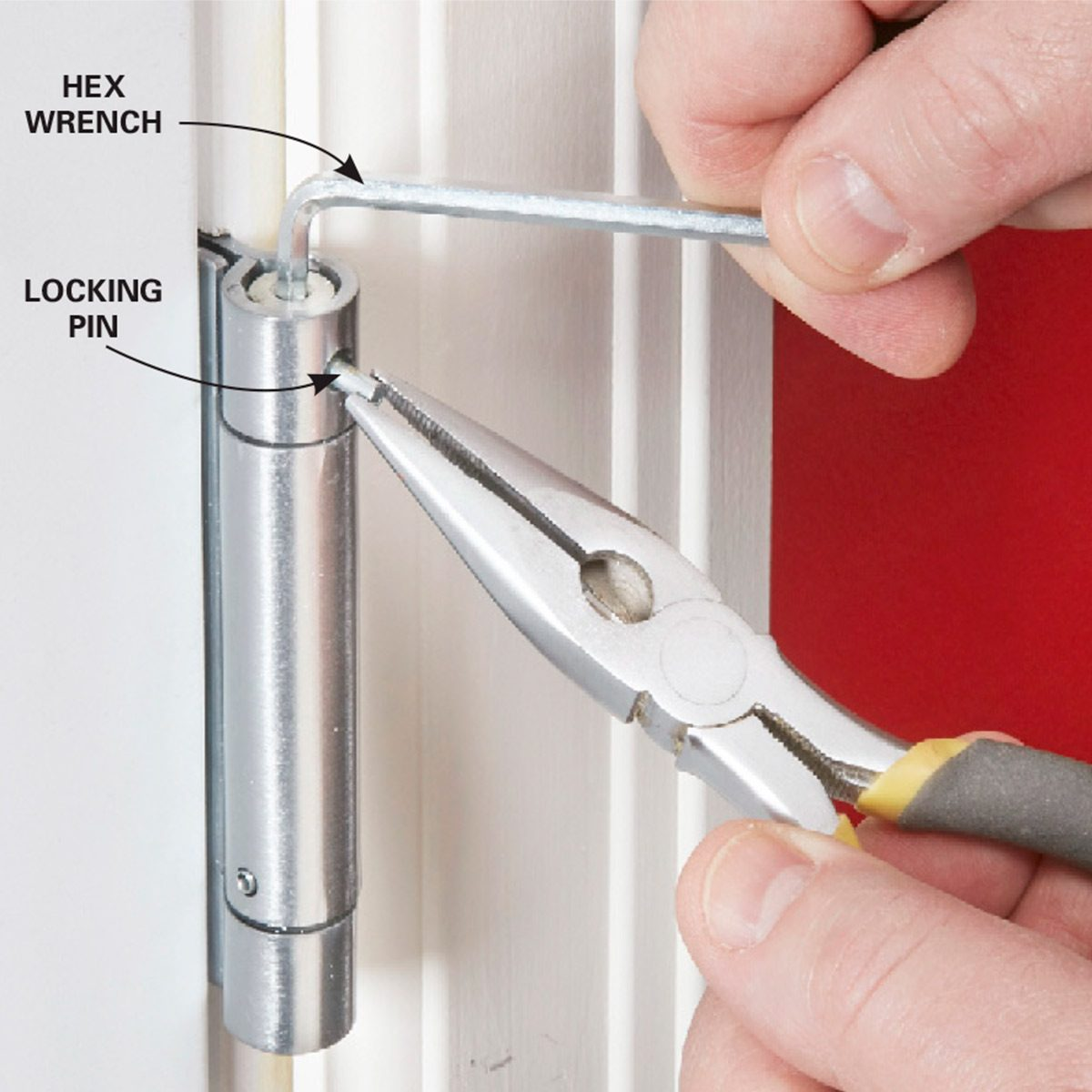 How To Adjust A Self Closing Spring Hinge Yourself