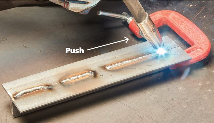 Welding Table Practice First