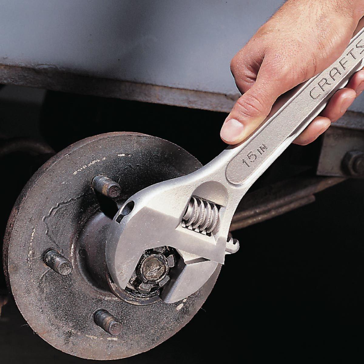 Repacking Trailer Wheel Bearings Family Handyman The Tracker Pontoon Boats Besides 4 Wire Wiring Harness Diagram Reassemble Hub