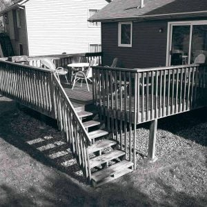 before deck makeover cheap backyard makeover ideas, patio makeovers
