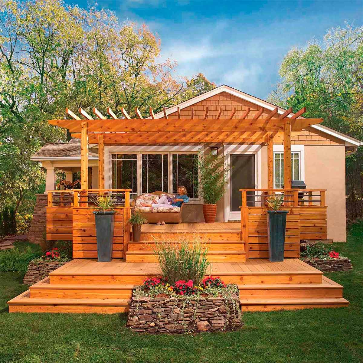 Backyard Transformation Before After: 13 Before And After Backyard Makeovers You Can Do In A