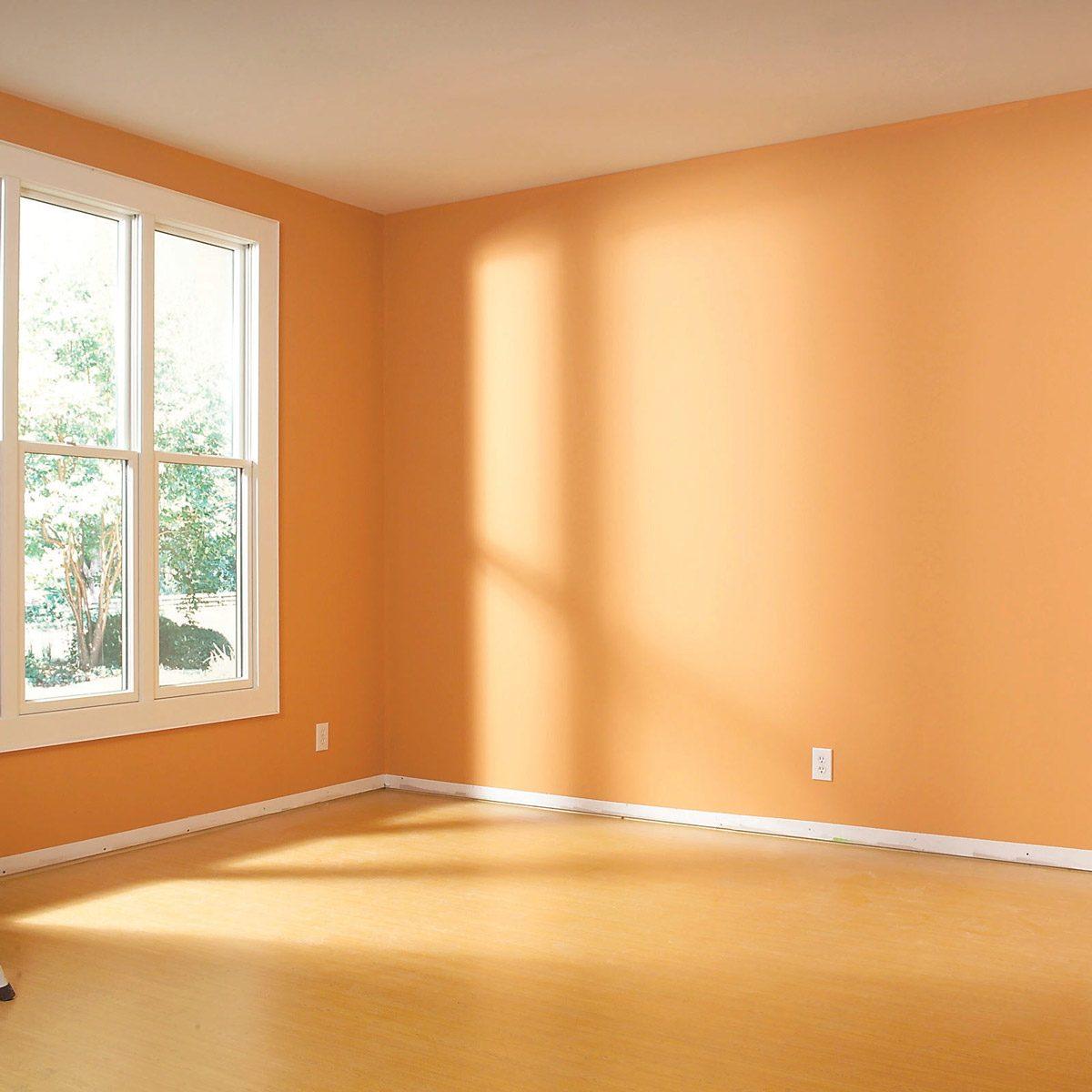 empty open sunny room