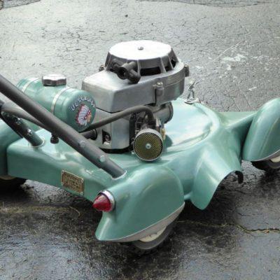 hot rod lawn mower lawnmower