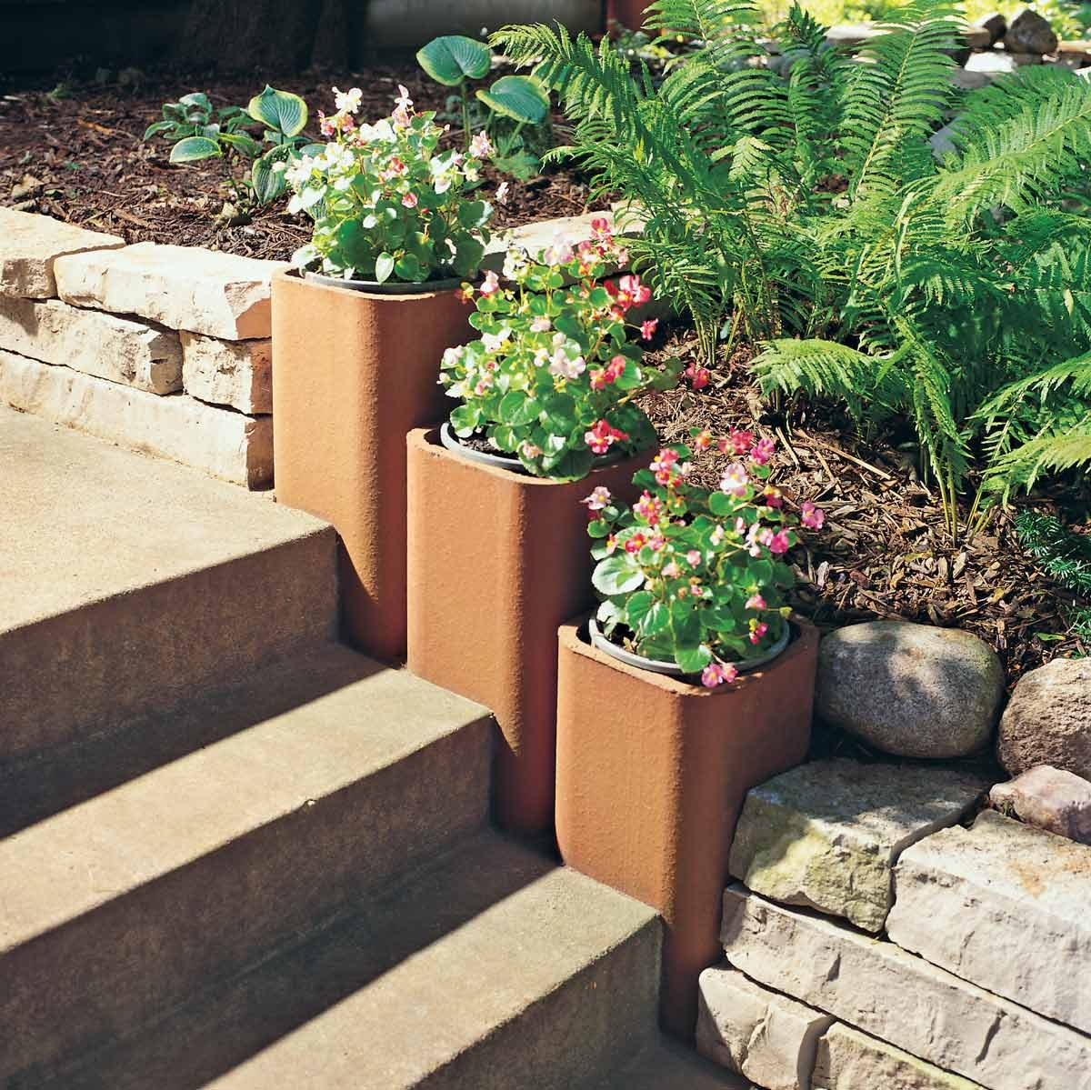 Inexpensive And Stylish Chimney Flue Planters The Family
