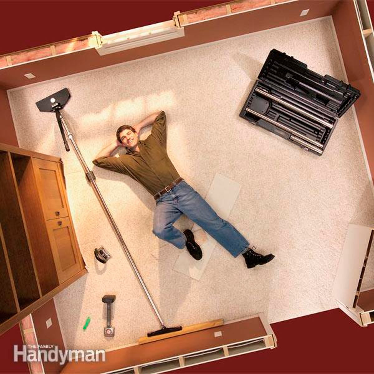 Fit Trim And Restretch Your Carpet In One Afternoon With A Stretcher