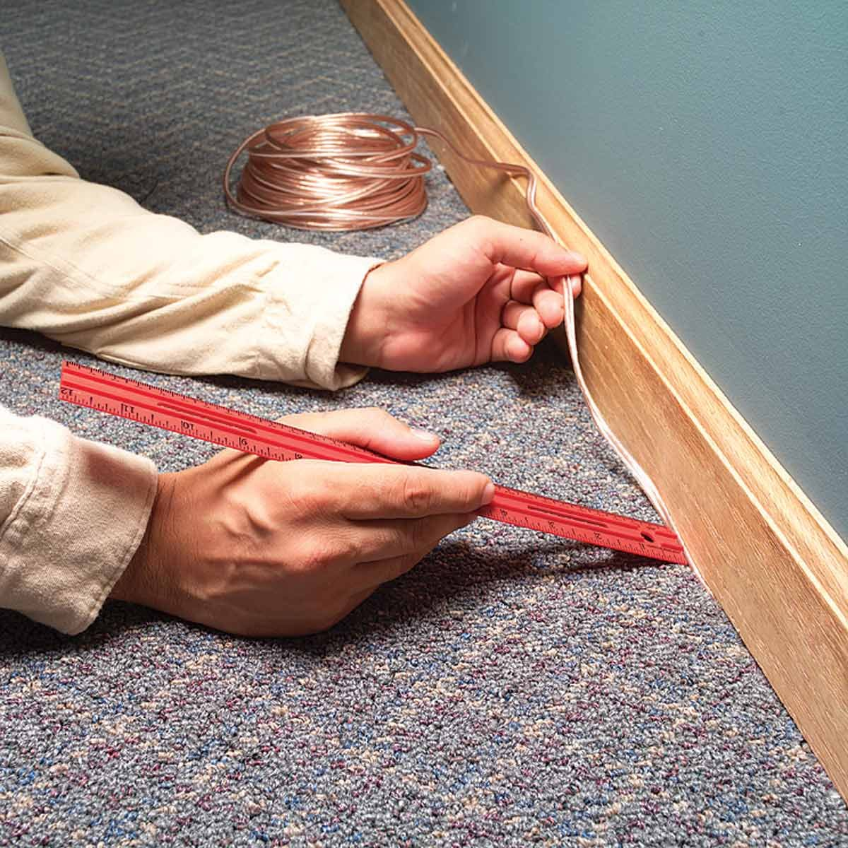 5 Brilliant Ways To Hide Wires In A Room Without Going