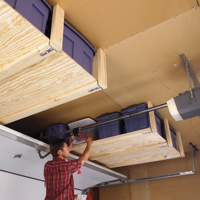 24 Garage Storage Projects You, Garage Hanging Storage Solutions