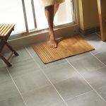 Install a Ceramic Tile Floor in the Bathroom