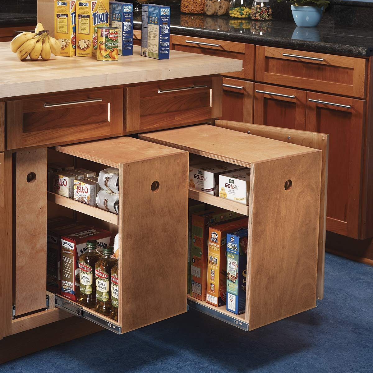 Kitchen Storage Diy Ideas: 30 Cheap Kitchen Cabinet Add-Ons You Can DIY
