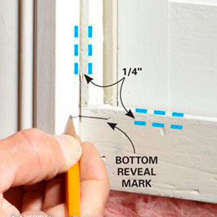 modern window trim