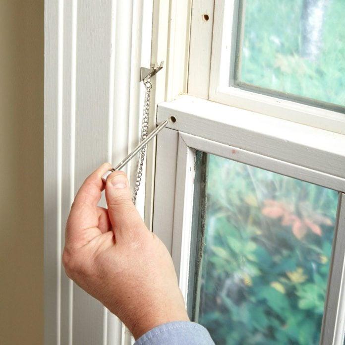 DIY Simple Window Locks to Keep Your Home Safe