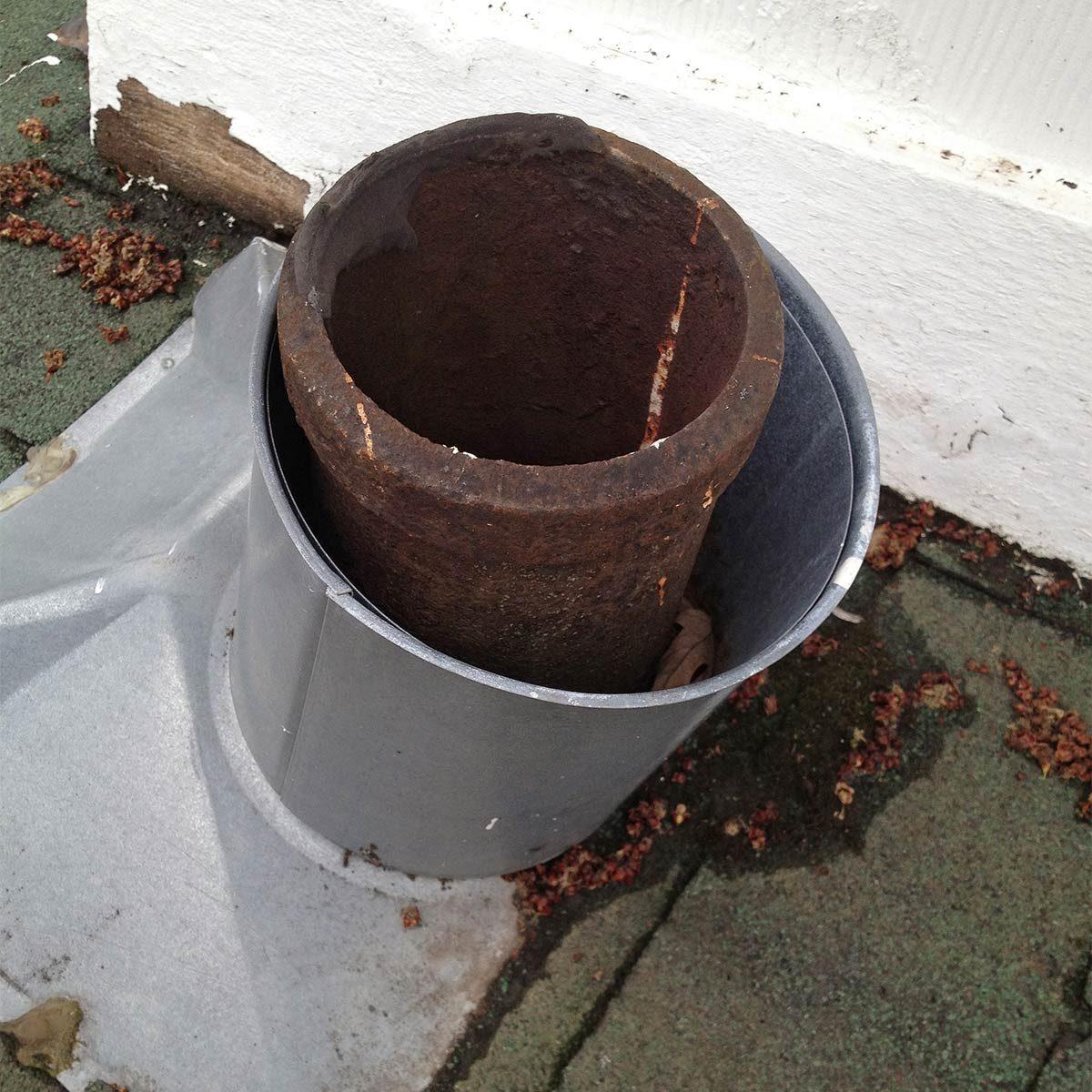 plumbing stack flashing