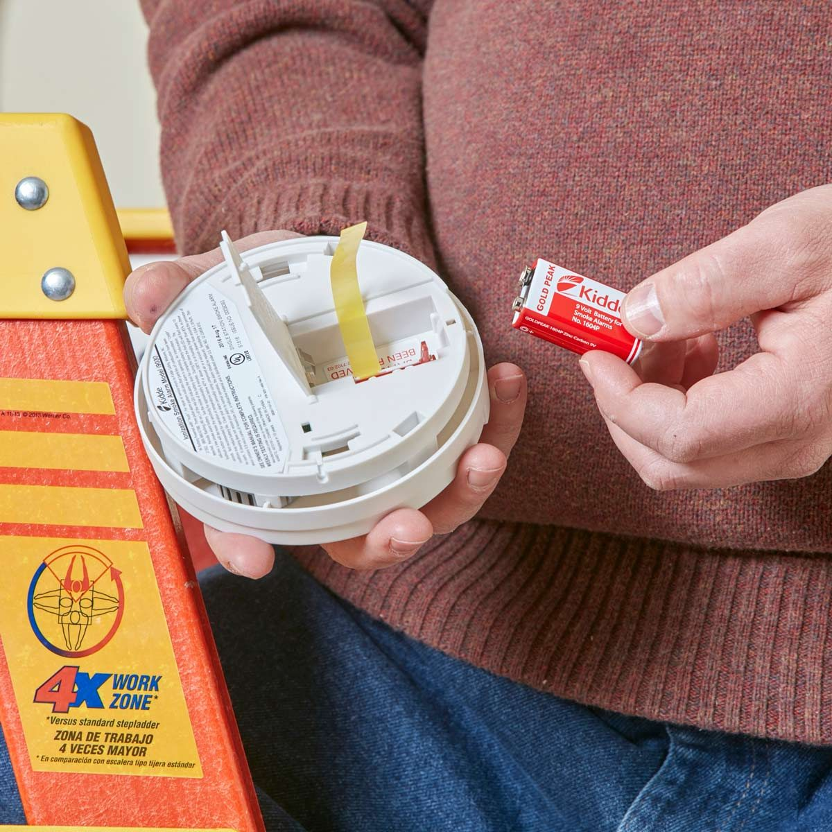 When To Replace Your Smoke Detector Batteries The Family Handyman
