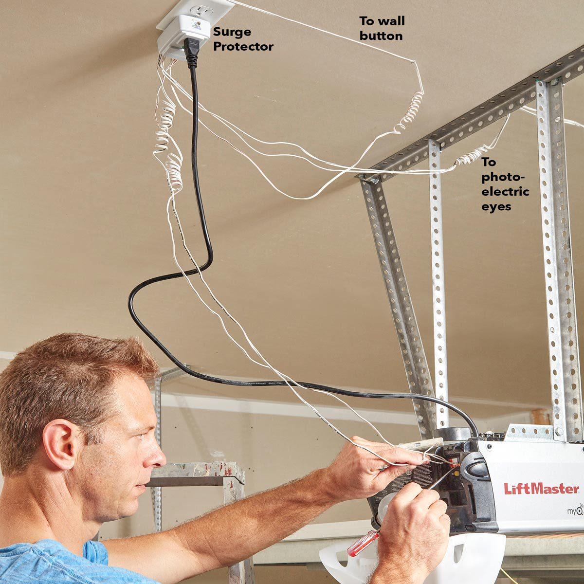 How To Protect Your Garage Door Opener The Family Handyman