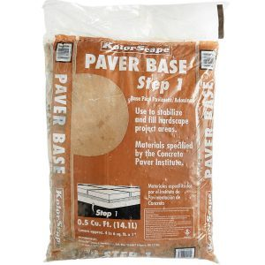bag of sand paver base