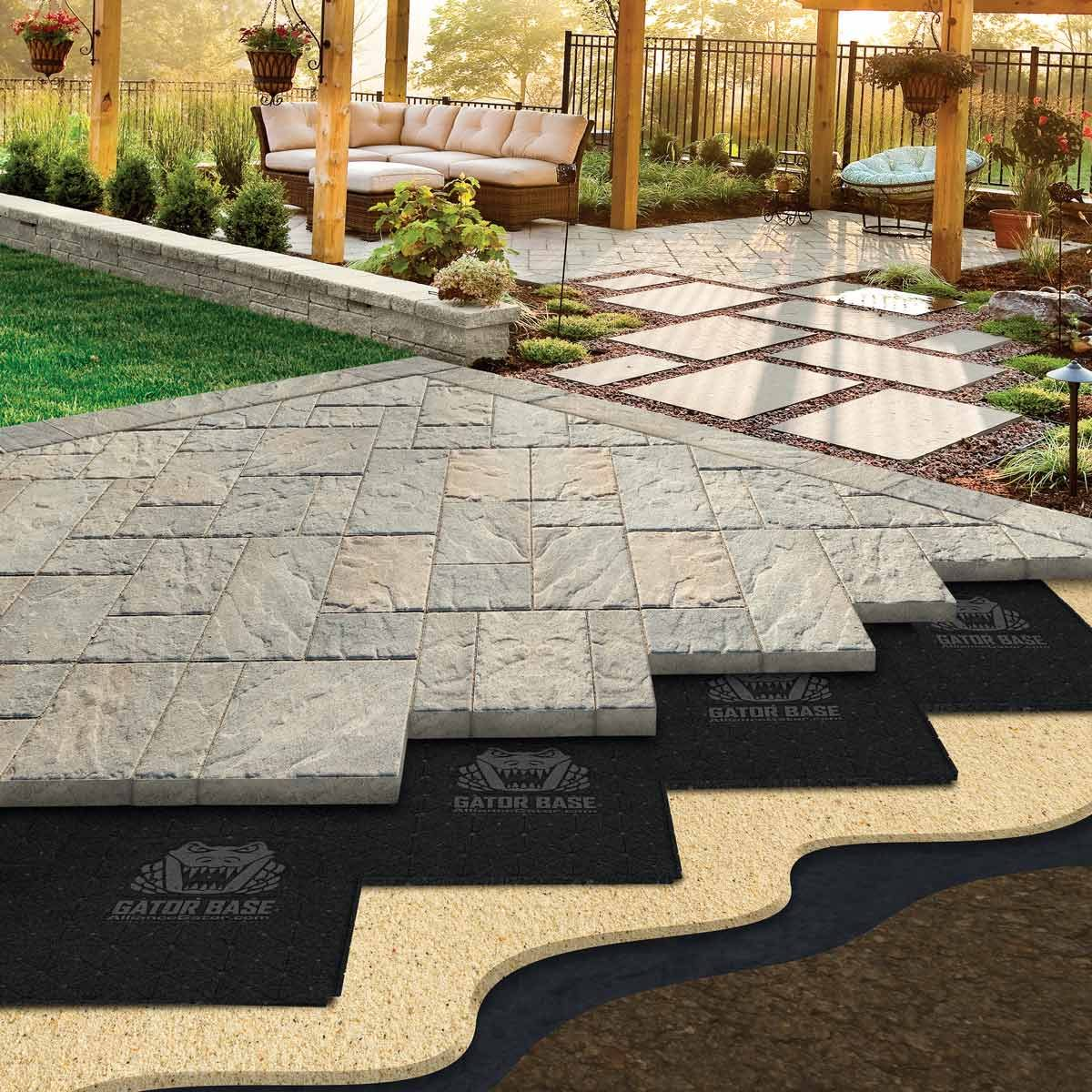 Easier Paver Patio Base That Will Save Your Back Family