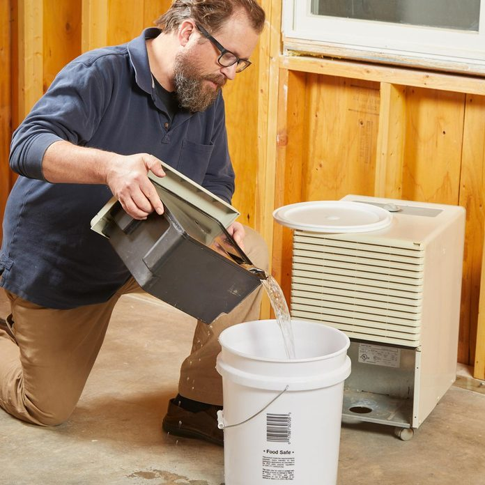 water from your dehumidifier