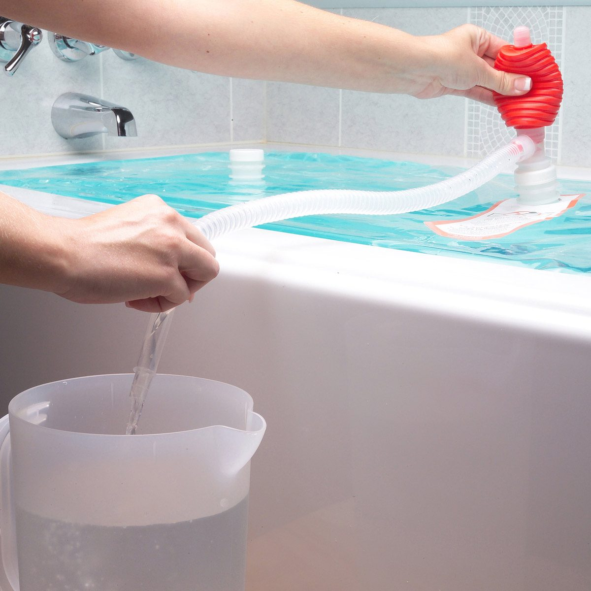 store water in a tub bathtub water shortage