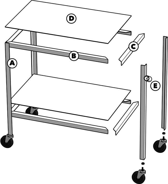 Welding Table Tech Art