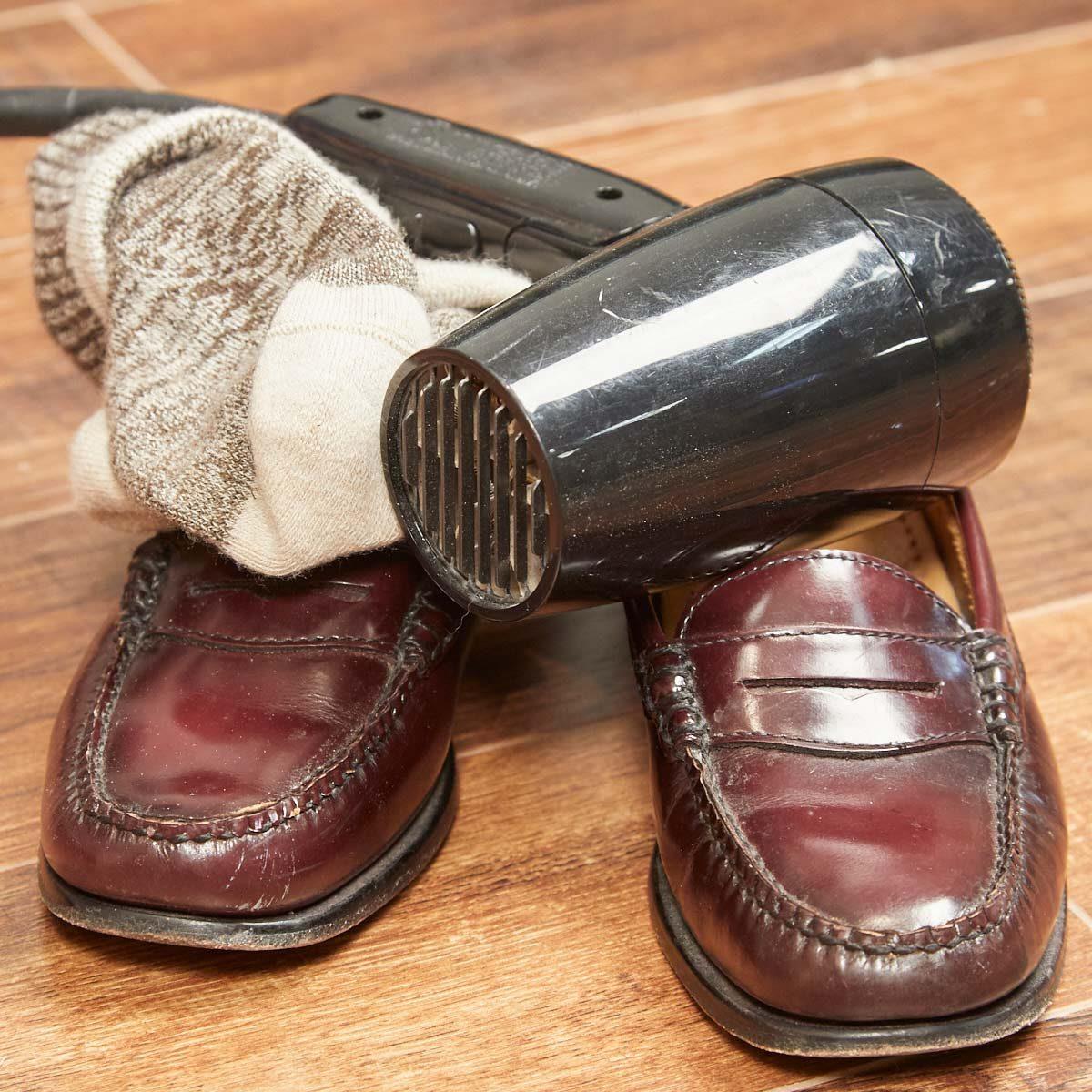 Break In New Shoes Hair Dryer