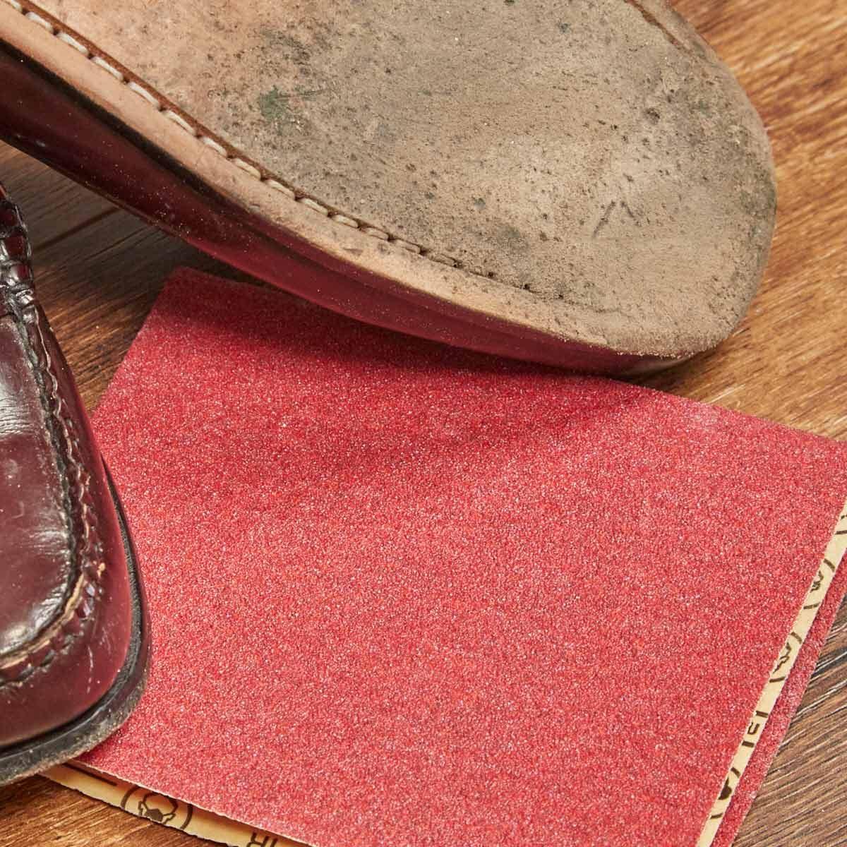 HH sandpaper slick shoe soles