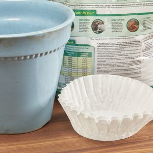 Coffee Filter Dirt Stopper