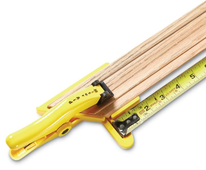 Miter Aid Measuring Clamp Lede