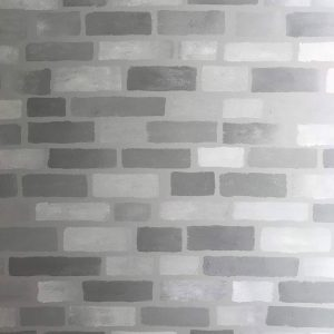 Create a Faux Brick Accent Wall with Paint in 4 Easy Steps