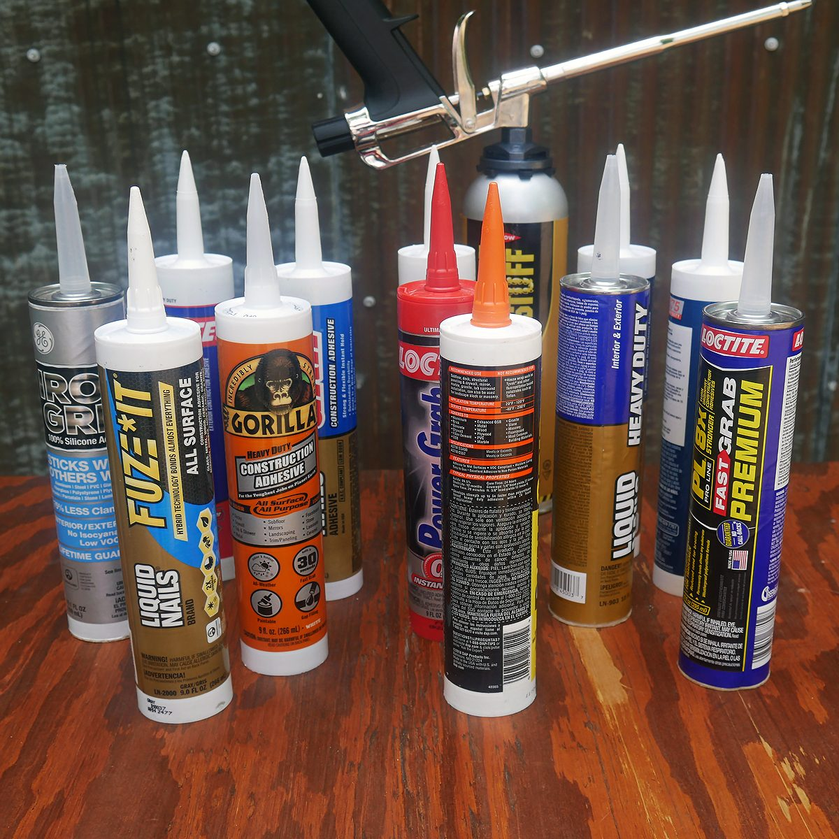 We Tested 10 Top Construction Adhesives