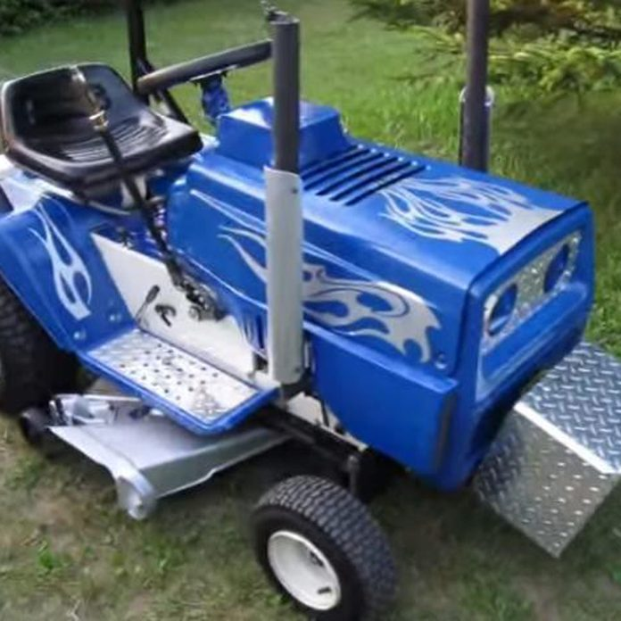 hot rod lawn mower